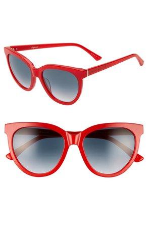 Brightside Beverly 55mm Cat Eye Sunglasses   Nordstrom