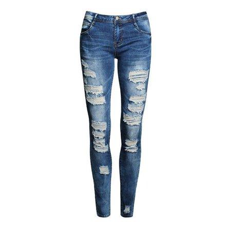 Ripped Women's Skinny Jeans