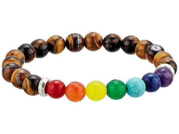 Dee Berkley Chakra Gemstone Beaded Bracelet