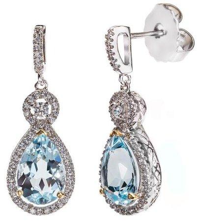 victorian light blue jewlery - Google Search