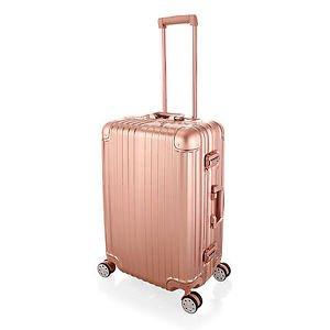 Luggage rose gold