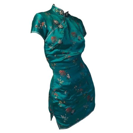 outfit png dress Chinese teal blue