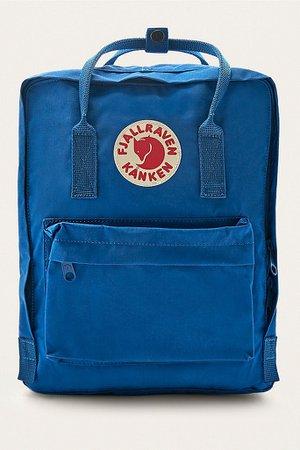 Fjallraven Kanken Lake Blue Backpack | Urban Outfitters UK