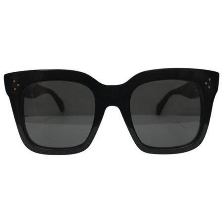 Tilda oversized sunglasses Celine Black in Plastic - 8797448