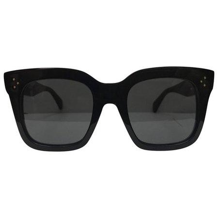 Tilda oversized sunglasses Celine Black in Plastic - 8797448