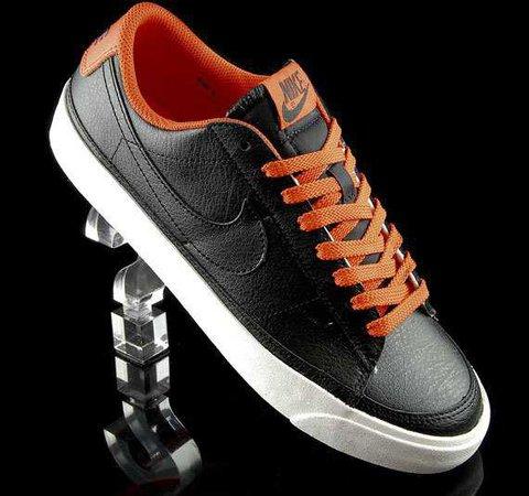 | Nike Blazer Low – Black & Orange | | The BSX