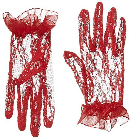 red lace gloves - Google Search