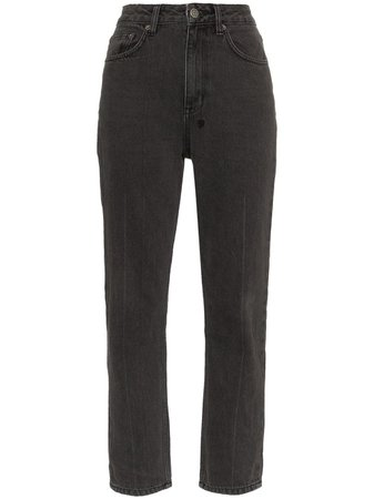 Black Ksubi Chlo High-Waisted Jeans | Farfetch.com