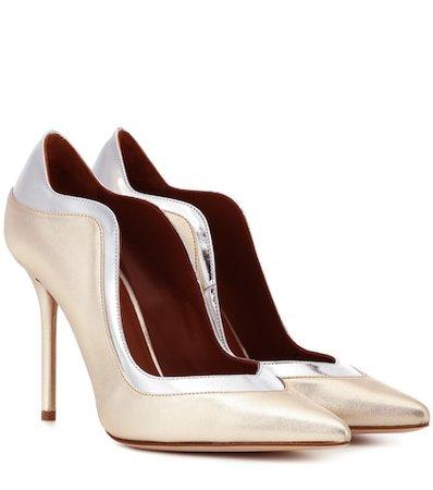 Penelope 100 leather pumps