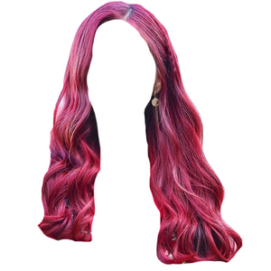 Pink/Red Hair PNG