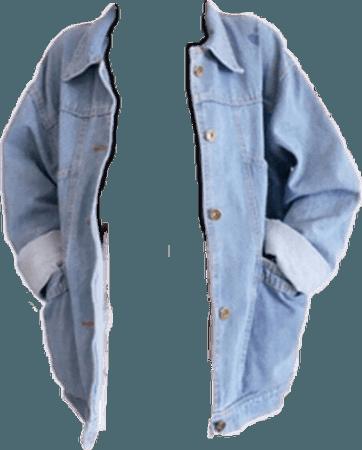 Light Wash Denim/Jean Jacket (png)