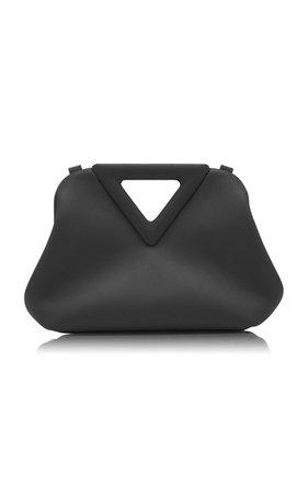 The Triangle Leather Clutch By Bottega Veneta | Moda Operandi