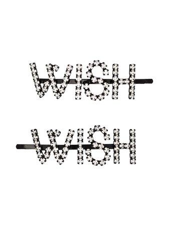 Ashley Williams Horquillas Wish Con Detalles De Cristal - Farfetch