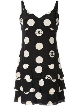 Chanel Vintage Sleeveless One Piece Dress