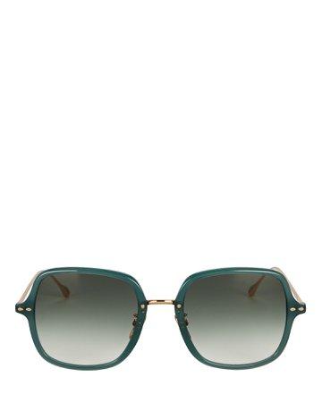 Isabel Marant Windsor Oversized Square Sunglasses | INTERMIX®