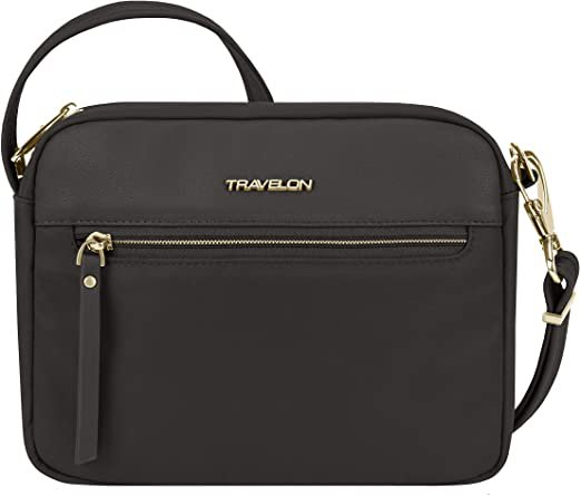 Amazon.com: Travelon Small Crossbody Bag, Black, One_Size: Clothing