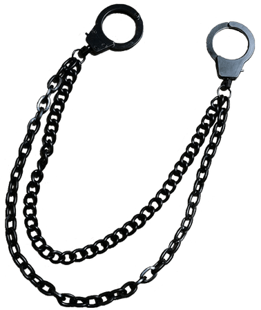 Black Belt Cuff Chain