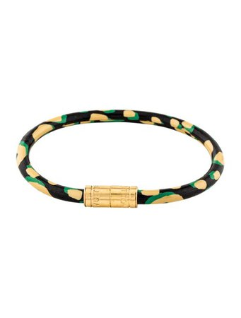Louis Vuitton Stephen Sprouse Keep It Bracelet - Bracelets - LOU219562 | The RealReal