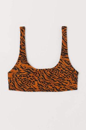 Padded Bikini Top - Orange