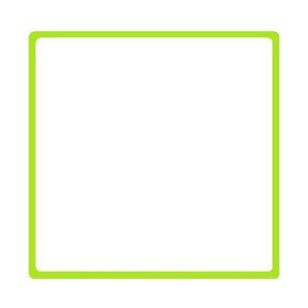 green border frame