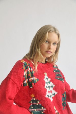Urban Renewal Vintage Holiday Sweater | Urban Outfitters