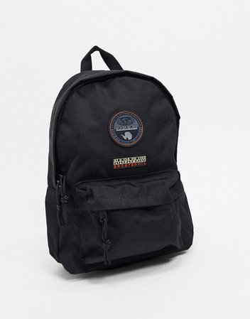 Napapijri Voyage Mini Backpack in black | ASOS