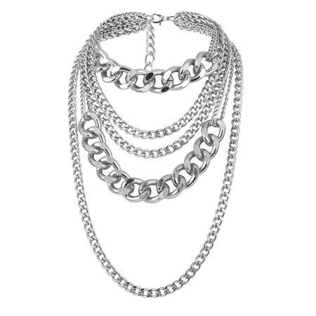 Multi-layer Curb Chain
