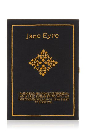 M'o Exclusive Jane Eyre Book Clutch By Olympia Le-Tan | Moda Operandi