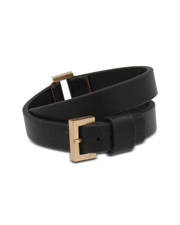 ALLSAINTS Women's Leather Wrap Bracelet | Bloomingdale's
