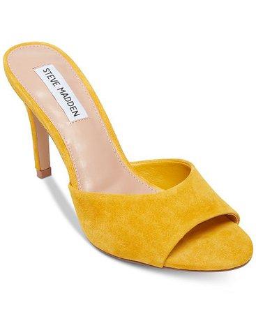Steve Madden Erin Dress Sandals & Reviews - Heels & Pumps - Shoes - Macy's