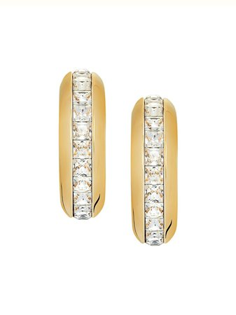 Fenty Half-Glazed Hoop Earrings Ss20 | Farfetch.Com