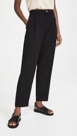 High Waist Tapered Pants
