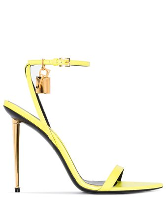TOM FORD Naked 105mm Leather Sandals - Farfetch