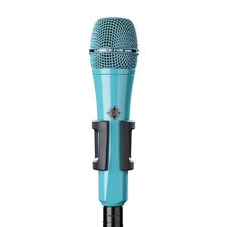 Microphone turquoise