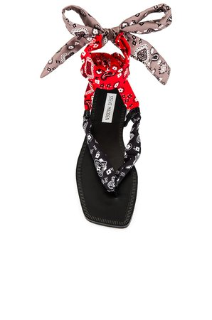 Steve Madden Sasher Sandal in Black Multi | REVOLVE
