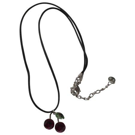 Crystal necklace Swarovski Silver in Crystal - 4389576
