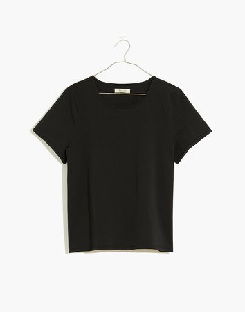 Luxe Boxy-Crop Tee