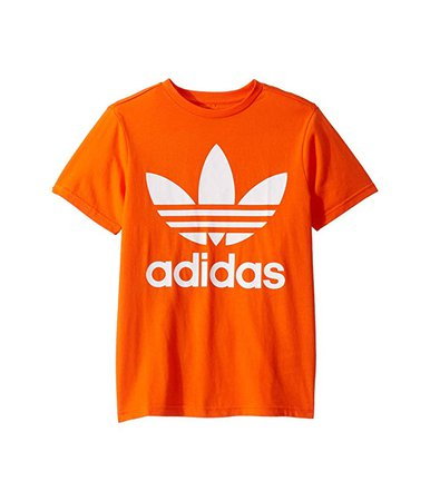 adidas Originals Kids Trefoil Tee (Little Kids/Big Kids) at Zappos.com
