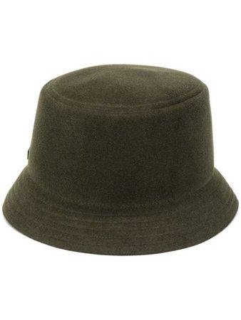 Ermenegildo Zegna Logo Plaque Bucket Hat - Farfetch