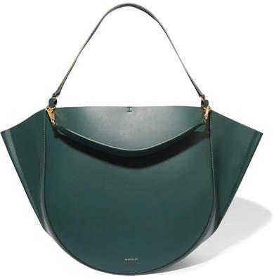 Wandler - Mia Big Leather Tote - Forest green
