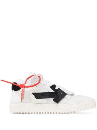 Off-White 3.0 Arrow Applique mid-top Sneakers - Farfetch