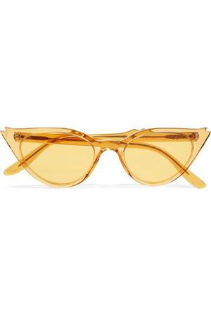 Illesteva | Isabella cat-eye acetate sunglasses | NET-A-PORTER.COM