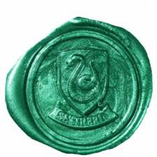 slytherin wax seal - Google Search