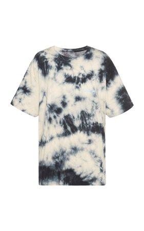 Tie-Dyed Cotton-Jersey T-Shirt by Off-White c/o Virgil Abloh | Moda Operandi