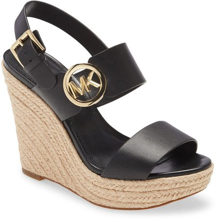 Summer Wedge Espadrille Sandal