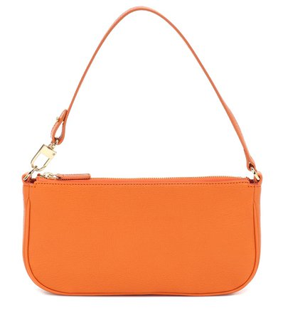 Exclusive To Mytheresa – Rachel Leather Shoulder Bag - By Far | Mytheresa