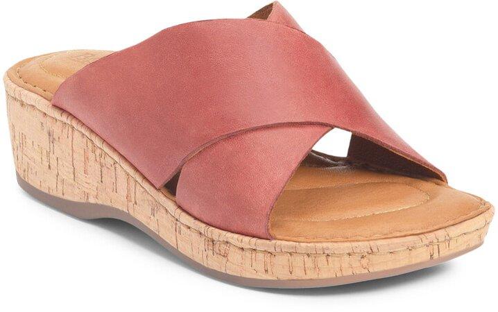 Lola Platform Wedge Sllide Sandal