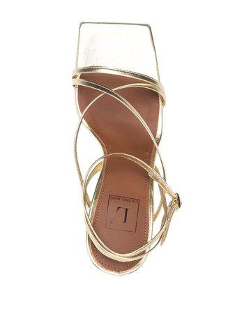 L'Autre Chose high-heel Gold Strappy Sandals - Farfetch