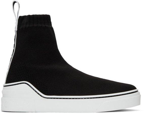 Black George V Sneakers