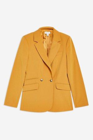Connie Blazer Burnt yellow | Topshop